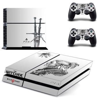 new The Witcher 3 Wild Hunt Vinyl Decal PS4 Skin Sticker For SonyPlaystation 4 PS4 Console Protection Film And 2pcs ControllerProtective Skins GYTM0410 - intl Price Philippines