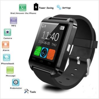 New Waterproof Bluetooth Smart Watch Phone Mate For Android IOS iPhone Samsung - intl