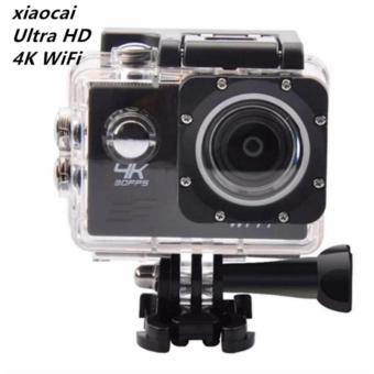 NEW-xiaocai-pro Ultra HD 4K WiFi 16MP Action Camera Sport DVR(Black)