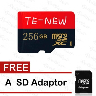 Newest 256GB 80MB/s Micro SD Card Class 10 SDXC Flash Memory CardWith Adapter - intl Price Philippines