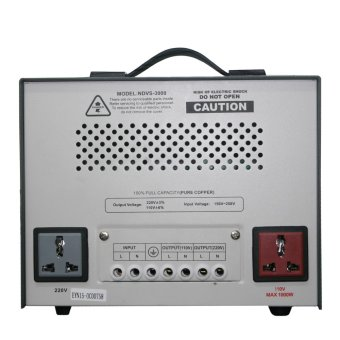 Newstar NDVS-3000 Servo 3000W AVR (Grey) - 3