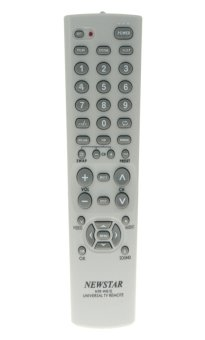 Newstar NTR-W81E Universal TV Remote (Dirty White)