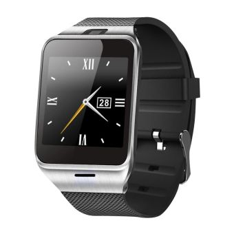NFC Aplus Smart Bluetooth Watch with Camera Bluetooth WristWatch SIM Card Smartwatch (Black)