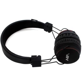 NIA-X2 108dB 4 in 1 Collapsible Wireless Bluetooth Over the EarHeadphone (Black)