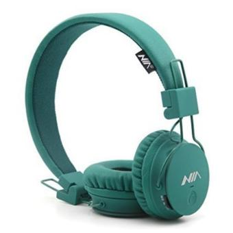 Nia X3 108dB 4 in 1 Bluetooth Headset Wireless Over Ear Headphone