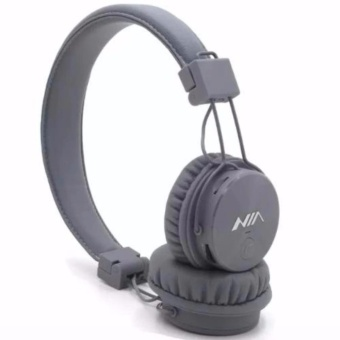 Nia X3 108dB 4 in 1 Bluetooth Wireless Over Ear Headphone (Grey)
