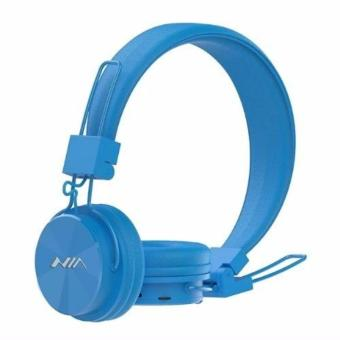 Nia X3 Headset 108dB 4 in 1 Collapsible Wireless Bluetooth Over the Ear Headphone Superb Sound Wireless Calls and Music, TF card play, FM Radio,