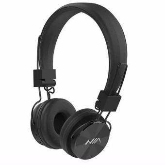 NIA-X3 Superb Sound Foldable 108dB 4-in-1 Wireless BluetoothHeadset with FM Radio and TF/AUX Slot