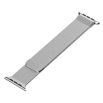 niceEshop Apple Watch Band Magnetic Clasp Mesh Loop MilaneseStainless Steel Replacement Strap For Apple Watch Sport Edition38mm Silver - intl - 4