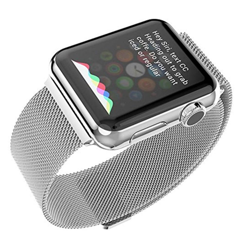 ... niceEshop Apple Watch Band Magnetic Clasp Mesh Loop MilaneseStainless Steel Replacement Strap For Apple Watch Sport ...