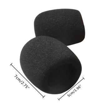niceEshop Black 10 Pack Colors Handheld Stage Microphone WindscreenFoam Mic Cover Karaoke DJ - intl - 4