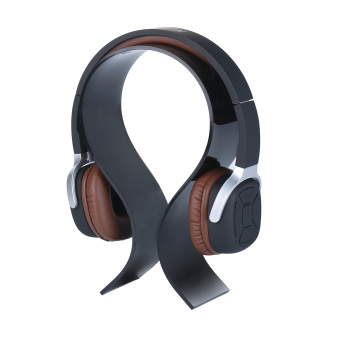niceEshop Headphone Stand Display Holder Hanger (Black)