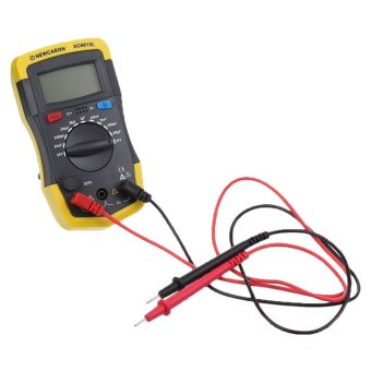 niceEshop Plastic XC6013L Capacitance Meter,Yellow Price Philippines