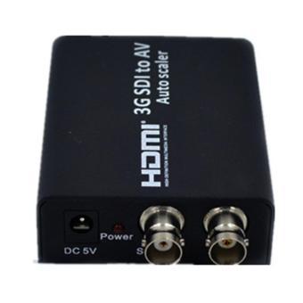 niceEshop SD HD 3G SDI To AV Composite RCA Video + L/R AnalogStereo Audio Video Converter Scaler - intl - 2