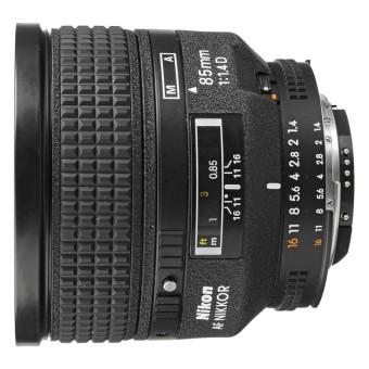 Nikon AF 85mm f/1.4D f1.4D IF Lens Black