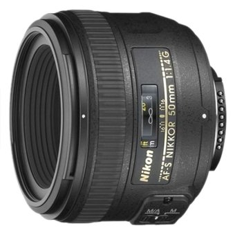 Nikon AF-S NIKKOR 50mm f1.4G Lens (Black) - picture 2