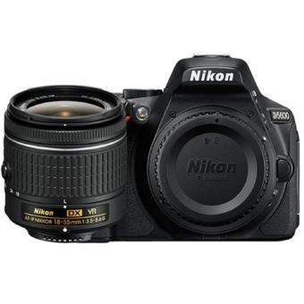 Nikon D5600 DSLR (AF-S DX 18-55mm VR II) Kit (Black)