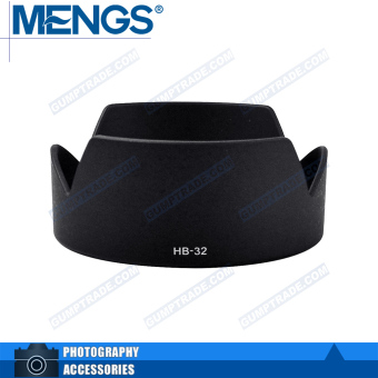 Nikon hb-32 card mouth hood lotus petals