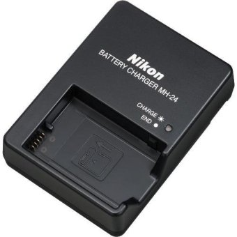 Nikon MH-24 Battery Charger for EN-EL14 5100 / D5200 / D5300 /D5500 / D3200 / D3100, Coolpix P7800 / P7000 / P7100 / P7700