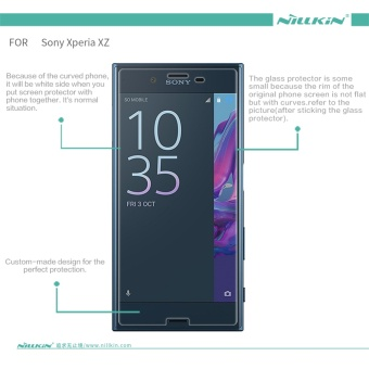 Nillkin 0.2mm Screen Protector For Sony Xperia XZs Anti-BurstTempered Glass Protective Film for Sony Xperia XZ - intl - 2