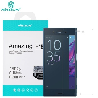 Nillkin 0.2mm Screen Protector For Sony Xperia XZs Anti-BurstTempered Glass Protective Film for Sony Xperia XZ - intl