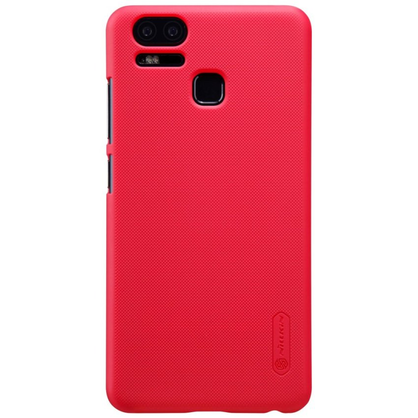 NILLKIN for Asus Zenfone 3 Zoom ZE553KL Super Frosted Shield HardCase - Red - intl Price Philippines
