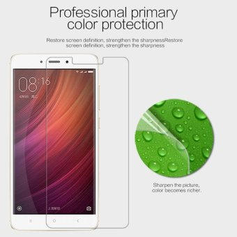 NILLKIN for Xiaomi Redmi Note 4X Anti-fingerprint HD Clear LCD Screen Protector Film - intl Price Philippines