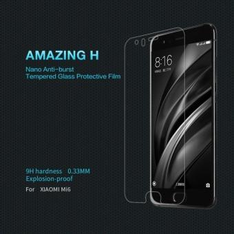 Nillkin H Nanometer Anti-Explosion Tempered Glass Screen Protectorfor Xiaomi Mi 6 - intl