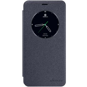 NILLKIN Sparkle Series Smart View Leather Case for Meizu M3E -Black - intl Price Philippines