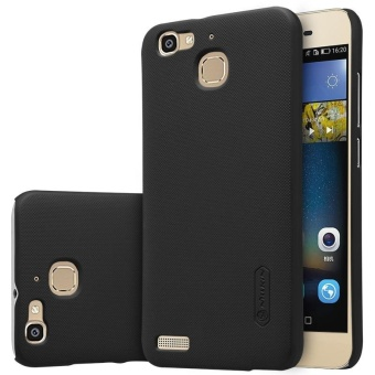 NILLKIN Super Frosted Shield hard back cover for Huawei Gr3 / EnjoY5S with Screen Protector (Black) - intl