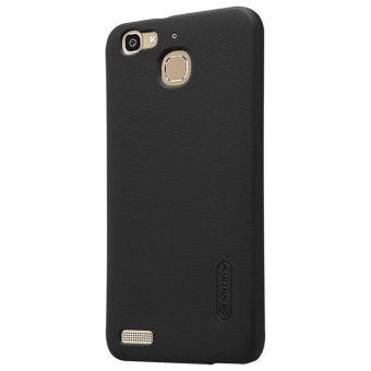 NILLKIN Super Frosted Shield hard back cover for Huawei Gr3 / EnjoY5S with Screen Protector (Black) - intl - 3