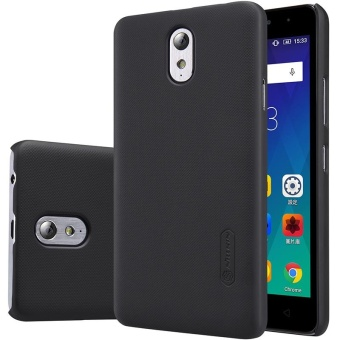 NILLKIN Super Frosted Shield hard back cover for Lenovo Vibe P1M (5inch) with Screen Protector (Black) - intl