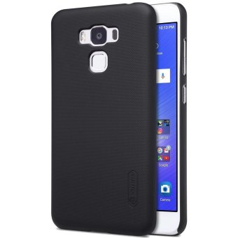 NILLKIN Super Frosted Shield Hard Case for Asus Zenfone 3 Max ZC553KL + Screen Protector - Black - intl