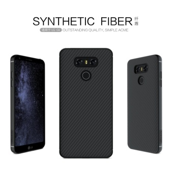 Nillkin Synthetic fiber Back Cover Case For LG G6 Military qualityWith Retail package (Black) - intl Price Philippines
