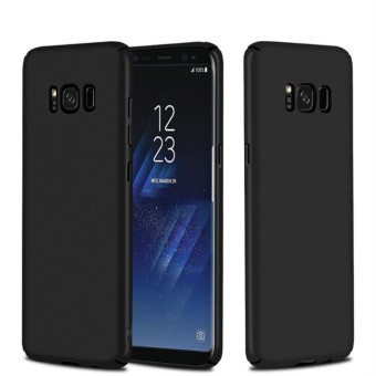 NingMao Smoothly Shield Skin Shockproof Ultra Thin Slim Full BodyProtective Hard PC Cover Scratch Resistant Case for Samsung GalaxyS8 Plus(Black) - intl Price Philippines