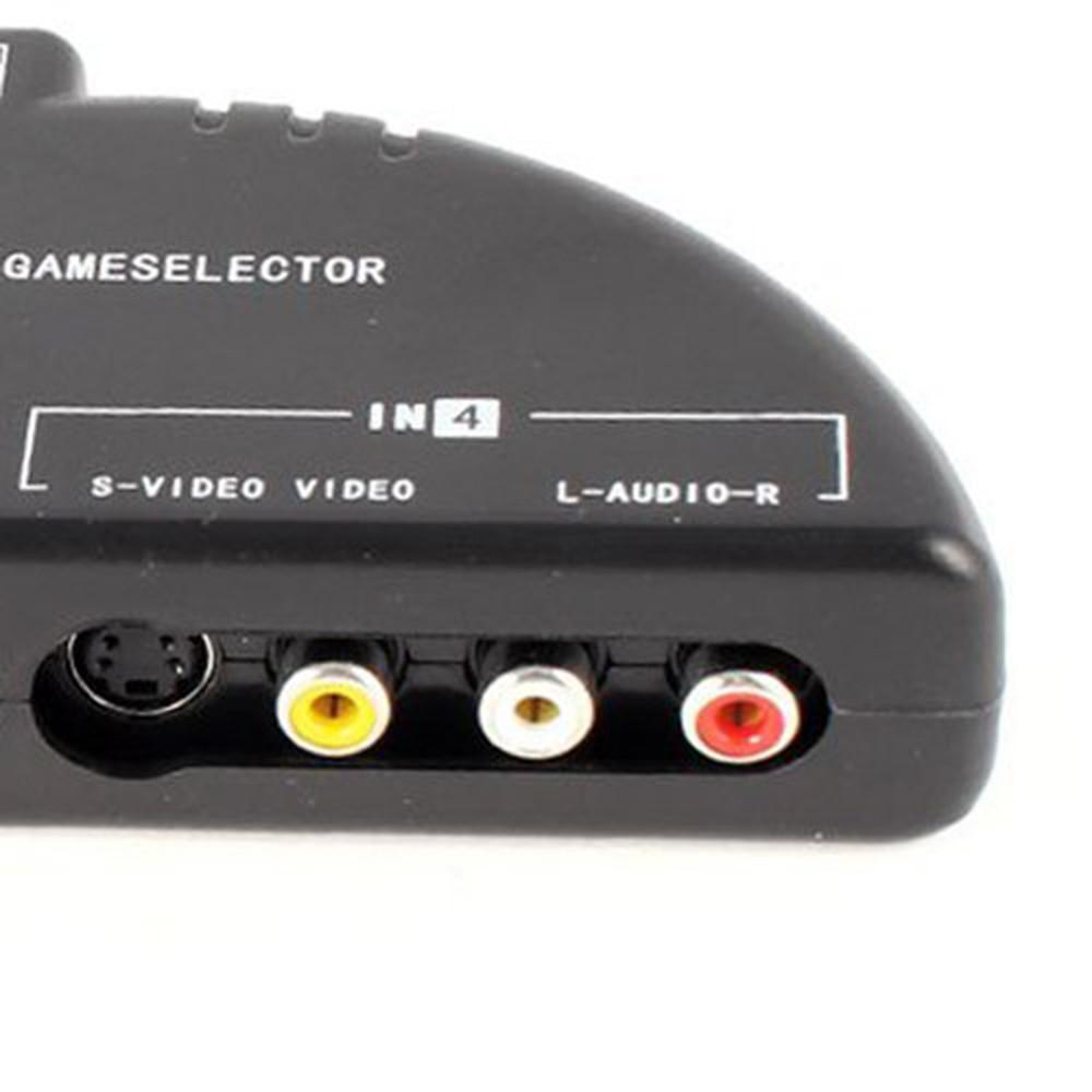 2 Way Rca Switch Box Philippines Ninror 4 Audio Video Av Game Selector Splitter Black