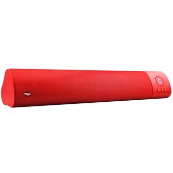 Nogo WM-1300 SoundBar Mini Bluetooth Speaker (Red)