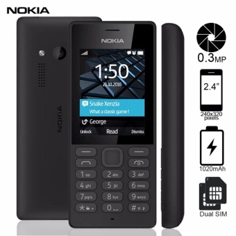 "Nokia 150 Dual SIM 2.4"" Display (Black) Price Philippines"