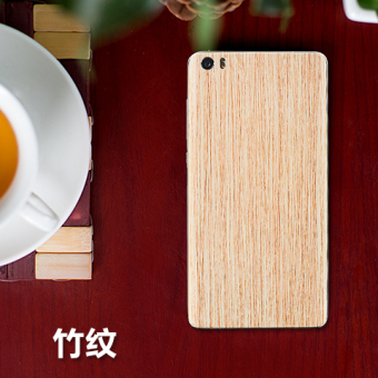 Note Natural Bamboo glass phone case back cover