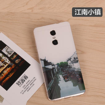 Note4/note4 silicone transparent thin Redmi protective case phone case