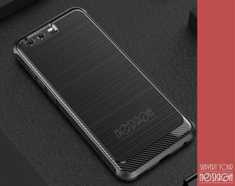 NOZIROH Huawei P10 Plus Phone Case 5.5 inch Huawei P10 Plus Elegant Phone Case Luxury Phone Case Carbon Fiber Silicon Phone Cover 360? Protective Cover - intl