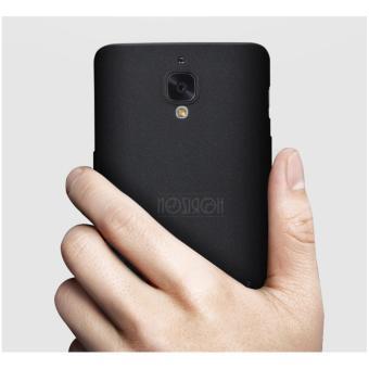 NOZIROH Oneplus 3 Oneplus 3T Matte Silicon Phone Cover Oneplus 3/3TStandstone Soft Case Black Color - intl - 2