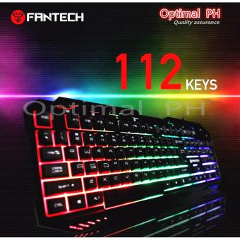 O-PH Fantech LED Colorful Backlight Gaming Keyboard K10 (Black) Price Philippines