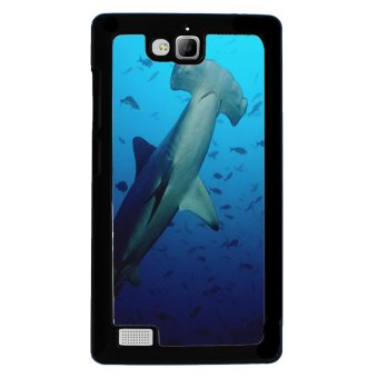 Ocean Seas Pattern Phone Case for Huawei Honor 3c (Blue) - picture 2