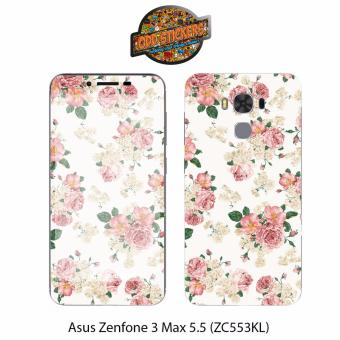 Oddstickers Vintage Floral 2 Phone Skin Cover for Asus Zenfone 3Max 5.5