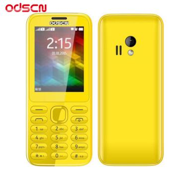 ODSCN 222 2.4'' Basic Mobile Phone Dual Sim (Yellow)