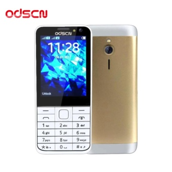 ODSCN 230 2.8'' Basic Mobile Phone Dual Sim (Gold)
