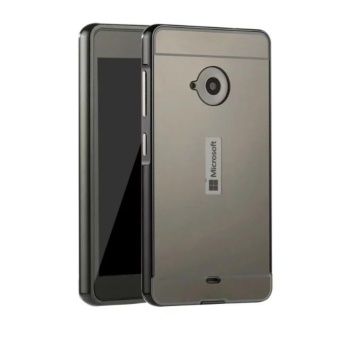 OEM Aluminum Metal Case For Microsoft Nokia Lumia 535 with HDScreen Protector -Black - intl