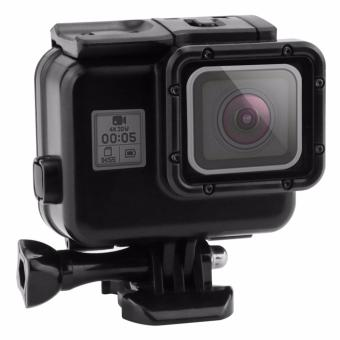 OEM Hero Black Waterproof Housing Case with Touch Screen Back Doorfor Gopro Hero 5 Black/ Hero5 Underwater Case (Black) Price Philippines