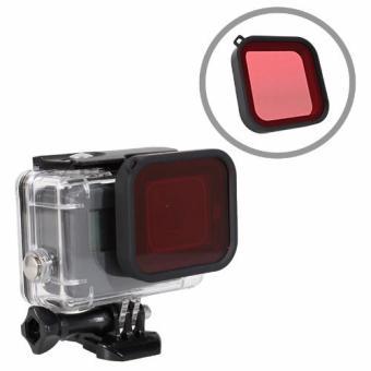 OEM Hero Red Dive Filter for Gopro Hero5 Standard WaterproofHousing Case - 3